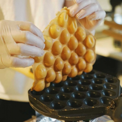 Bubblewrap - the waffle that everyone wants